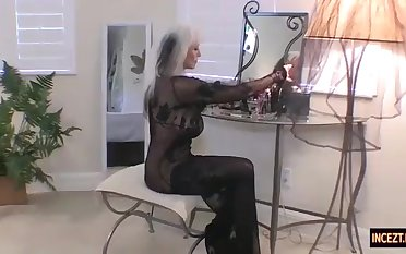 German mommy arranged a wedding night with her own sonnie. Real pornography ass fucking blow-job