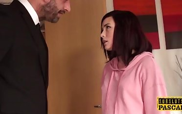 Facefucked uk fuckslut gasped into subordination